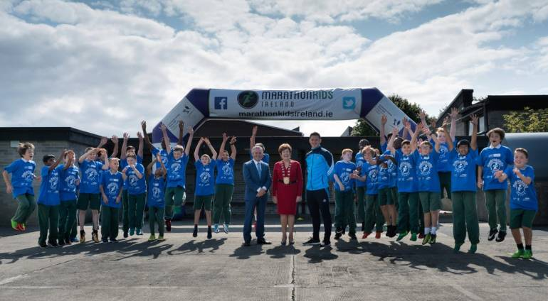 Marathonkids Ireland Fingal Launch