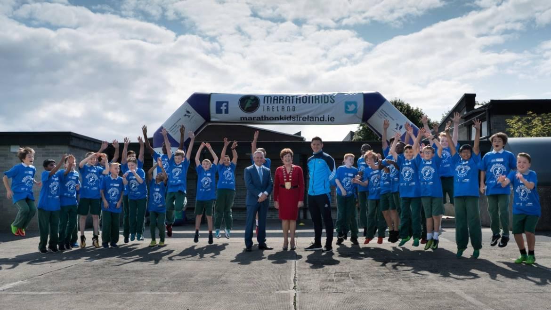 Marathonkids Ireland Fingal Launch