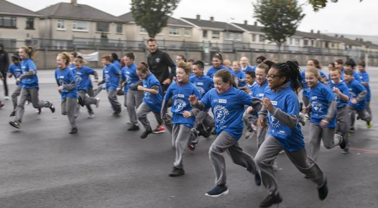 Marathonkids Ireland South Dublin Launch
