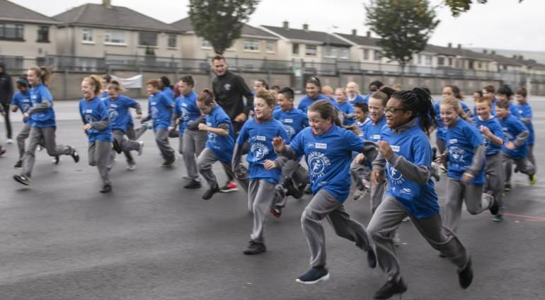 Marathonkids Ireland South Dublin Launch